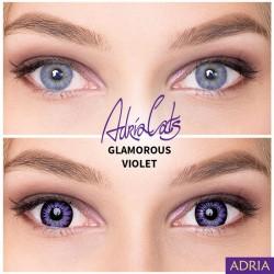 фиолетовые линзы увеличивающие глаза Минск Слуцк оптика халва