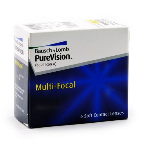 Контактные линзы Pure Vision Multifocal (Bausch & Lomb)